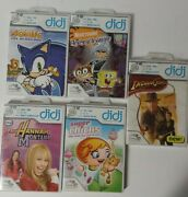 Lot Of 5 Leap Frog Didj Game Cartridges Learning Path Connected Math Spelling+++
