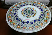 38 Dining Food Breakfast Lunch Coffee Corner Center Table Top Inlay Malachite