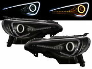 Ft-86 12-present Cotton Halo Dynamic Turn Signal D4s Headlight Bk For Toyota Lhd