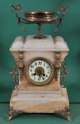 Antique French Mantel Clock Japy Frandeacuteres 19th Century