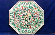 3and039x3and039 Dining Lunch Breakfast Coffee Pub Use Table Top Inlay Green Malachite