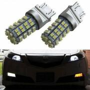3157 Switchback Led Bulbs For Front Turn Signal W/rapid Blink Fix Load Resistor