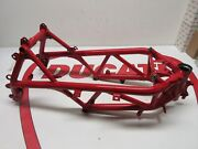 Ducati Main Frame Chassis Rahmen 1098 1098s Red 2008