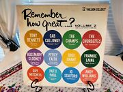 Remember How Great ... Volume 2 / 33 1/3 - Columbia Records - Xtv 694