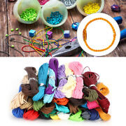 10m X1mm Polyester Waxed Cord String Wire Jewelry Findings Diy Craft Accessory