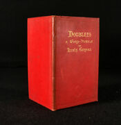 1879 Doublets A Word Puzzle Lewis Carroll First Edition Scarce Riddle Brain-t...