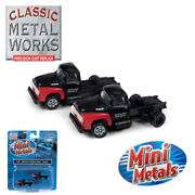 Classic Metal Works 51191 1954 Ford F-350 Semi Tractor Overland 2-pack N Scale