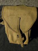 Ww1 Us French Model 1915 Chuahat Ammo Bag Excellent,original Condition,rare...