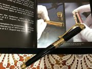 S.t Dupont Fountain Pen Second Empire Limited Edition 1872 Nib Size F