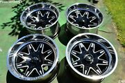 22 Fuel Forged Ff26 22x12 Ffc26 Concave Wheels -51 Toyota Tundra Sequoia 5x150