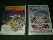 Godzilla Vs The Smog Monster / Hedorah And Destroy All Monsters Dvdand039s W/ Aip Audio
