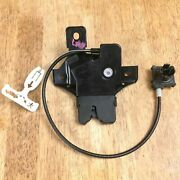 2010-2012 Ford Fusion Rear Deck Lid Trunk Lock Actuator Release Latch W/ Safety