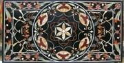 52and039and039x31and039and039 Marble Coffee Table Top Geometric Design Home Inlay Multi Mosaic