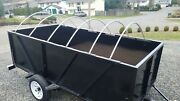 4 X 8 Walls Utility Or Adventure Trailer Tailgate Camping 5 10 Atv Work Cargo