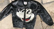 1990 Mickey Mouse Genuine Leather Starter Jacket