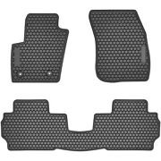 Floor Liner Mats For Ford Fusion 2013-2020 Custom Fit All-weather Guard Black