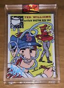 Ermsy Autograph Topps Project 2020 Ted Williams 58 Signed Blue 48/60 - Sold Out