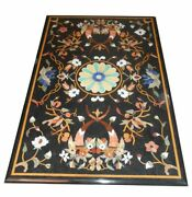52and039and039x31and039and039 Marble Table Top Pietra Dura Inlay Work For Home Decor And Garden