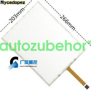 1 Pc 12.1 5-wire Resistive 43 Touch Screen Glass 266x203mm For Cash Register