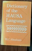 Dictionary Of The Hausa Language By Rc Abraham