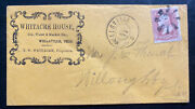 1860s Wellsville Oh Usa Commercial Cover Whitacre House