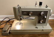Vintage Sears Kenmore Portable Sewing Machine Model 148 14220. Tested.