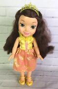 Jakks Pacific Beauty And The Beast My First Disney Princess Belle Doll Royal Toy