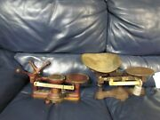 Antique Fairbanks Candy Scale Balance And Vintage Scale