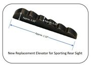 Sporting Rear Sight Elevator For Iver Johnson Mod 72 Lever Action 22 Cal Rifle