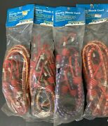 Stansport Elastic Shock Cords 18 8 Mm Rust Proof Rubber Tip Lot Of 4 = 16 Cords
