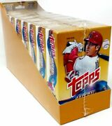 2018 Topps Update Baseball Hanger 8 Box Case Factory Sealed Acuna Rc