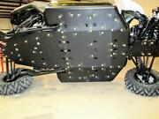 2017+ Can Am Maverick X3 Plastic Skid Plate And Front A-arms
