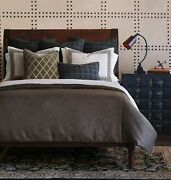 Eastern Accents Irving Luxury Neutral Palette Tailored King 8 Piece Bed Set Bro