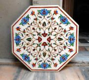 3and039x3and039 Octagon Marble Dining Coffee Side Corner Centre Table Top Mosaic Work