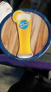2-blue Moon Craft Beer Bar Metal/wooden Display Sign Double Sided Some Discolor