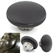 Motorcycle Black Round Aluminum Oil Gas Cap Fuel Tank Cover For Harley 750 500