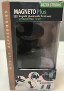 Magneto Plus Magnetic Phone Charger For Air Vent Adjustable Joint Ultra Strong