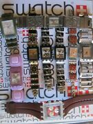 Swatch Square Pre Owned In Good Condition Different Sizes An Models