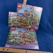 Lego Friends 3185 1 2 3 Summer Riding Camp Instructions Only Manual Book Okuc