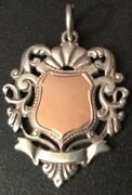 Unique 1941 Andlsquos.c.cunninghamandrsquo Samcc Trial Silver-rose Gold Motorcycle Medal/fob