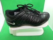 Nike Musique Iv Sneaker Athletic Black Shoes 324751-011 Size 8.5