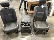 2012-2018 Dodge 3500 Front Seat Bench 40/20/40 Leather