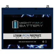 Mighty Max 12v 75ah Lithium Battery Replacement For Gruber Power Gps12-75