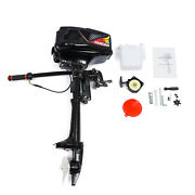 3.6hp 2stroke Gasoline Outboard Motor Boat Engine W/water Cooling 55cc Cdi Andce Z