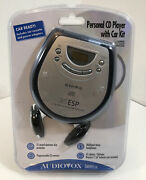 Audiovox Dm8903-35k Personal Cd Player With Car Kit