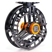Hardy Ultradisc Reel - Black - Free Line And Backing - Free Fast Shipping