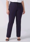 Lane Bryant Lena Pants Sexy Stretch Boot Sizes Black Gray 18-26 Short,r And Tall