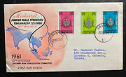 1961 Singapore Malaya First Day Cover To Toronto Canada 13th Meeting Colombo Pla
