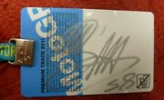 Marco Simoncelli Hand Signed And Certified Malaysian Motogp Paddock Pass Oct 2011