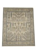 8x10 Beige Willow Tree Oushak Hand-knotted Wool Oriental Rug Carpet 7.11 X 9.8